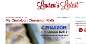 LaurensLatestMyCinnamonRoll