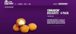 Taco Bell's Cinnabon Delights
